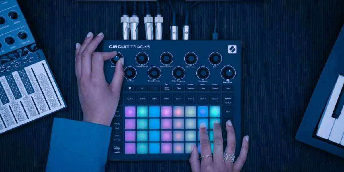 NOVATION RELEASES NEW ALL-IN-ONE GROOVEBOX CIRCUIT TRACKS